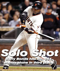 Bonds hits 661