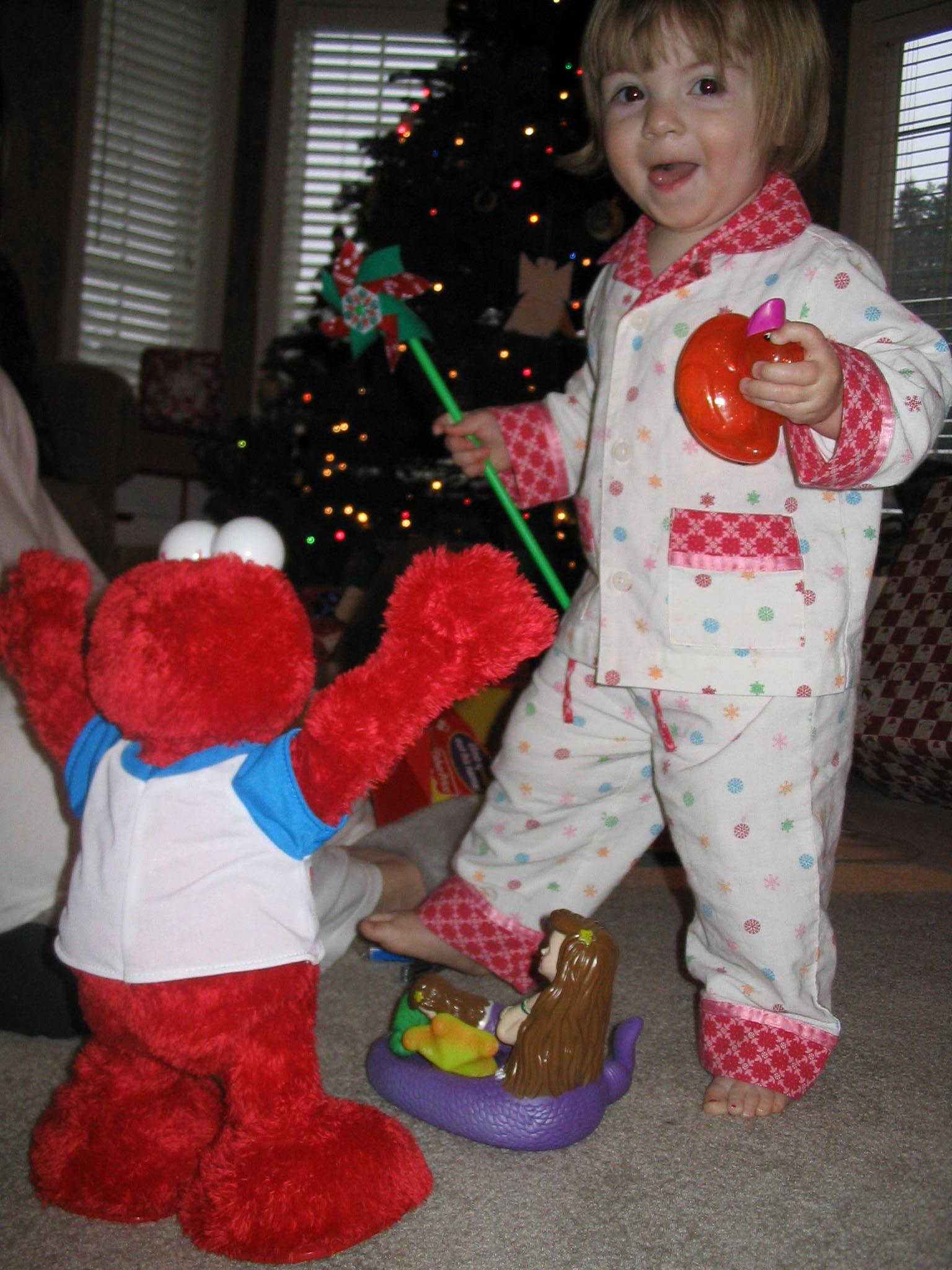 Dancin' with Elmo!